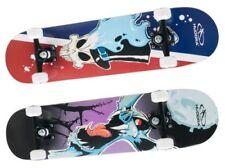Hudora Skateboard Compétences ABEC7 Enfants Patins Double Coup de Pied Planche