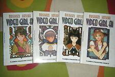 VIDEO GIRL AI, TOMOS 3, 4, 5  Y 6, MASAKAZU KATSURA, DE PLANETA.
