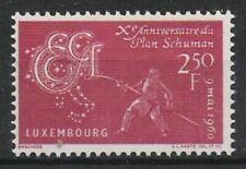 Luxemburg Nr.620 ** Schuman-Plan 1960, postfrisch