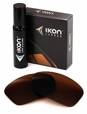 Polarized IKON Replacement Lenses For Oakley Hijinx Sunglasses Bronze/Brown