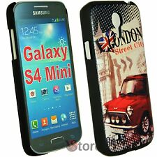 Custodia Per Samsung Galaxy S4 Mini i9195 London Cooper Inghilterra + Pellicola