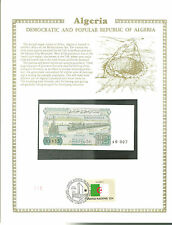 ALGERIA 10 lire Banknote WORLD CURRENCY COLLECTION Paper Money UNC Stamp MINT