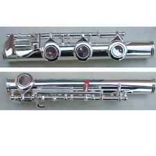 flute B foot silver plated /cupronickel body diameter of headjoint inside 19.9mm
