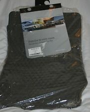 2003 to 2008 Mercedes SL55 AMG Rubber Floor Mats - REAL FACTORY OEM ITEMS - GRAY