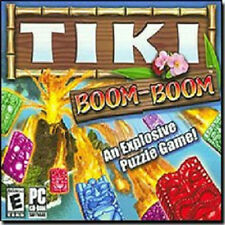 Tiki Boom-Boom Puzzle PC Game CD NEW