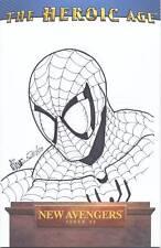 NEW AVENGERS #1 VARIANT SPIDER-MAN SKETCH ALEX MILNE