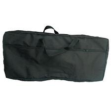 XL Keyboardtasche 80 - Hülle 10mm POLSTERUNG -schwarz- BIS 137cm x 17cm x 47cm