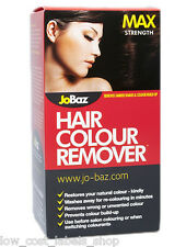 JoBaz Hair Colour Remover Max Strength Removes Darker Shades & Colour Build Up