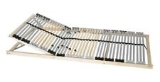 7-Zonen Premium-Lattenrost 90x200 cm Kopfteil Härtegrad verstellbar 42 Leisten