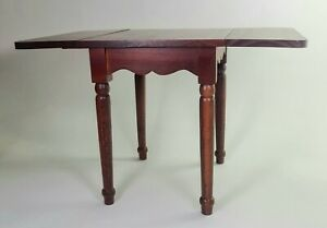 """Vintage DOLL Table wood furniture for16"""" to 18"""" Doll Springfield Collection NIB"""