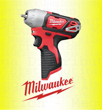 Milwaukee M12 Compact Drill Impact Wrench Fuel Gauge + LED 12V Naked/ Body only