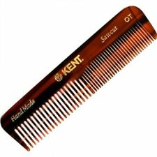 Kent  Combs Mens Small OT Handmade 113mm Coarse Fine Toothed Styling Pocket Comb
