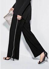 BNWT🌹Next🌹Size 12 Petite Ecru Pique Sport Elastic Waist Trousers New (40 EU)