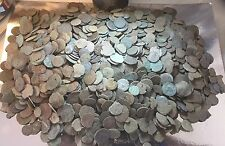 Lot Of 20 X Uncleaned Ancient Roman Coins. Low Quality, Practise Cleaning Only.