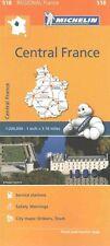 Centre Map 518: Michelin Regional Maps: France