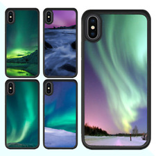 iPhone X 8 7 Plus 6 Plus 6s Plus SE 5s 5 5c Case Aurora Rubber Cover For Apple