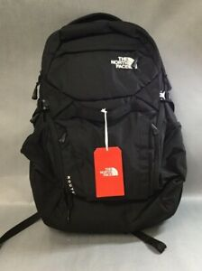 Brand New The North Face Router Commuter Laptop Backpack Tnf Black One Size