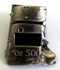 NED KELLY AUSSIE BUSHRANGER LIMITED EDITION OF ONLY 500 HELMET PIN BADGE 451-500