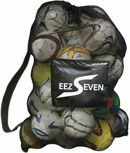 Extra Large Ball Mesh Bag Soccer Ball Bag Equipment Bag For Sports 30x40 Inches