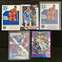 TOBIAS HARRIS PRIZM, REVOLUTION, CHRONICLES - COLORED, NUMBERED LOT X 5! 76ers