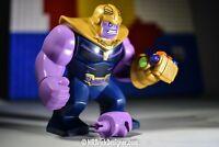 AUTHENTIC Avengers Infinity War LEGO Thanos Minifigure & Gauntlet 6 stones 76107