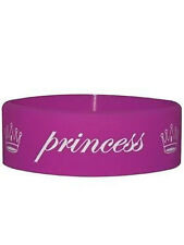 Princess - Pink Rubber Gummy Wristband