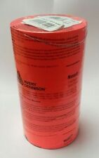 14,000 Monarch Paxar 1136 Price Gun Labels Fluorescent Red Permanent   2 Inks