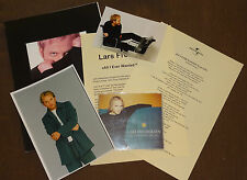 Eurovision Song Contest 1998 Norway Lars Fredriksen press pack with CD single