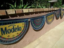 NEW 28' Modelo Cerveza Cinco de Mayo Beer Fiesta string Banner Sign Flag Mexico
