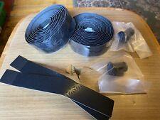 Supacaz Super Sticky Kush Road Race Bike Handlebar Tape. Black.