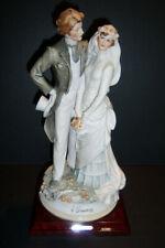 G. Armani 1984 Wedding Couple Figurine Made in Florence