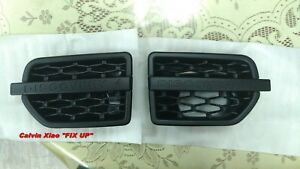 MIT ALL BLACK SIDE VENT FOR LAND ROVER L319 DISCOVERY 4 2010-2013