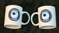 Vintage Hockey Night in Canada  Teal  coffee mugs set of two