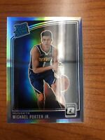 Optic SILVER HOLO Rated Rookie Michael Porter Jr