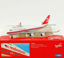 Herpa 529679 - 1:500: Malaysia Airlines Boeing 747-400, Retro colors - NEU + OVP