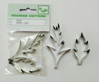 Poppy Leaf Cake Decorating Metal 255S  by Framar Cutters