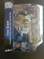 """Diamond Select Toys """"The Iron Giant"""" 9 1/8 figure with Light Up Eyes"""
