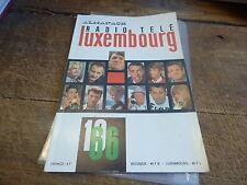 almanach radio télé luxembourg 1966