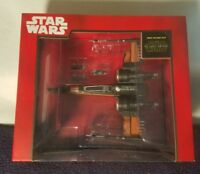 Star Wars Poe's X-Wing Fighter Die Cast Vehicle Toy Disney Store NEW SEALED Rare