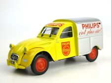 NOREV Collection 1:43 CITROEN 2CV AZU PHILIPS C'est plus sur! DIECAST Dinky Toys
