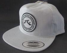 63280cb7103 MENS RUSTY ASH GRAY CAP SNAPBACK HAT ONE SIZE