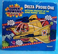 Vintage 1985 Kenner Super Powers Collection Delta Probe One