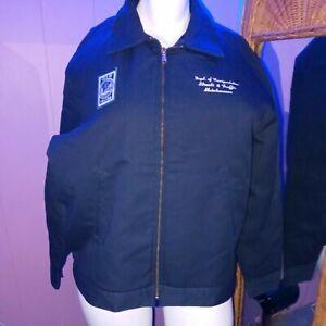 Dickies Jacket JT15NV Carhartt Style Canvas Heavy Duty Full Zip Jacket XL/LN