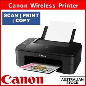 Wireless Printer Canon PIXMA Inkjet SCAN COPY PRINT Includes Ink Cartridge