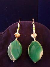 Orecchini Arg.925 Agata e Perle-Agate Silver Earrings and Pearls