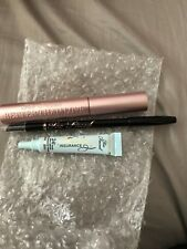 SET Of 3 - TOO FACED BETTER THAN LOVE MASCARA BLACK/ EYELINER/SHADOW INSURANCE