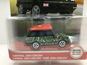 Disney Pixar Cars Deluxe * Corporal Josh Coolant ** RARE *  1:55