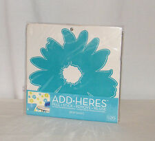 New Add-Heres Decorative Adhesive Graphic Instant Wall / Glass Decor . Pop Daisy