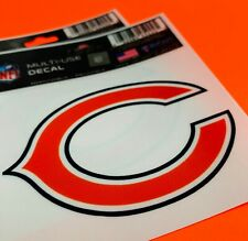Chicago Bears Removable and Reusable Car Decal Cling NEW
