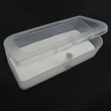 Small Size Plastic Clear Transparent Storage Collections Container Box Case U